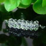 クォーツ(水晶) AAA ボタンカット 約2.5×5mm