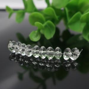 クォーツ(水晶) AAA- ボタンカット 約3×6mm