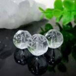 クォーツ(水晶) ロータス(蓮)カット 10mm