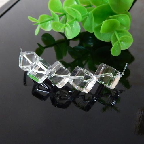 水晶 (クォーツ) キューブ 約8×8mm程度