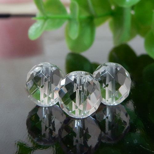 クォーツ(水晶) AAA 64面ラウンドカット 8mm