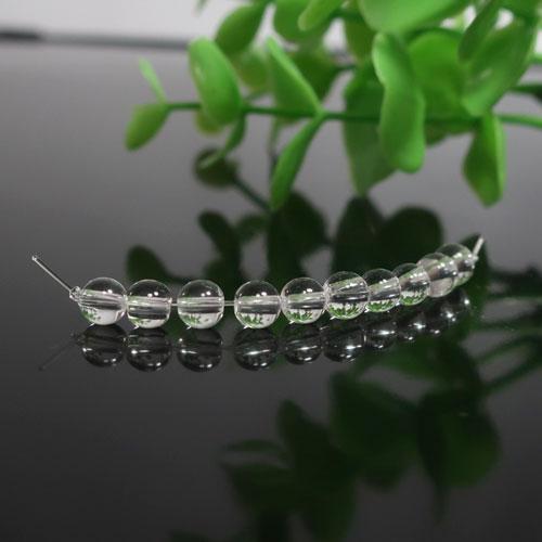 クォーツ(水晶) AAA ラウンド 約4.3mm-0