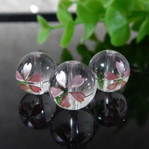 クォーツ(水晶) AAA ラウンド 10mm(さくら彫り)