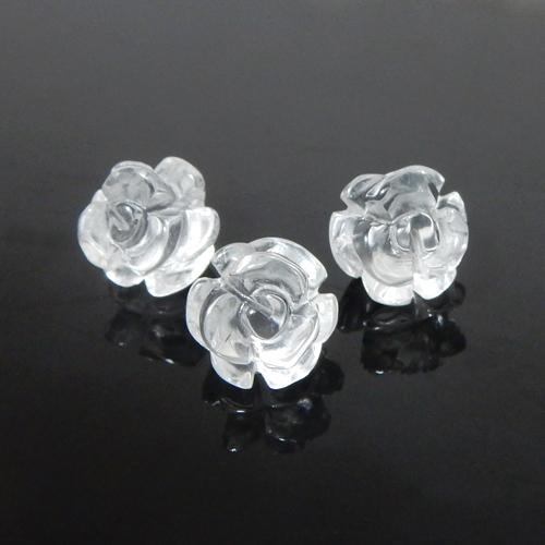 クォーツ(水晶) 薔薇(ローズ) 約10mm
