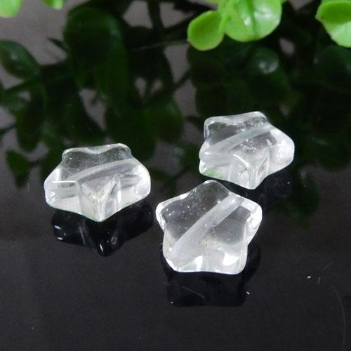 クォーツ(水晶) 星型モチーフ 約12mm