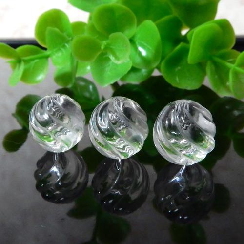 クォーツ(水晶) AAA ウェーブカット 10mm-0