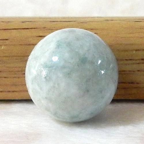 糸魚川産ジェダイド(翡翠) ラウンド AAA- 14mm 004-0