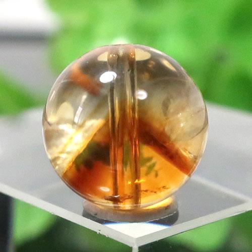 ファントムシトリン AAA- ラウンド 約10.3mm程度 019