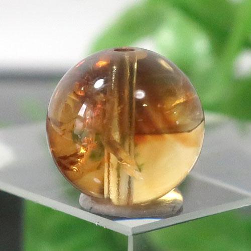 ファントムシトリン AAA- ラウンド 約10.2mm程度 028-0