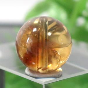 ファントムシトリン AAA- ラウンド 約10.2mm程度 028