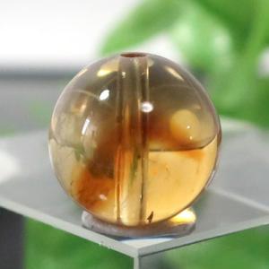 ファントムシトリン AAA- ラウンド 約10.2mm程度 030