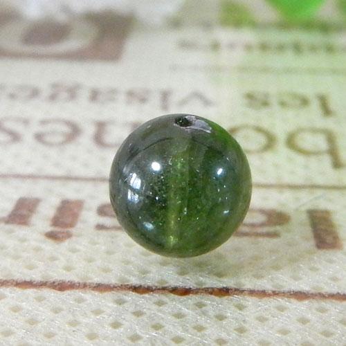 グリーントルマリン AAA- ラウンド 約7.5mm  046-0