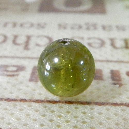 グリーントルマリン AAA- ラウンド 約7.5mm  047