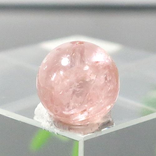 オレンジピンクトルマリン AAA- ラウンド 約7.5mm程度 392