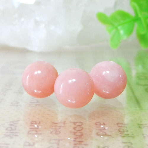 ピンクオパール AAA- ラウンド 8mm