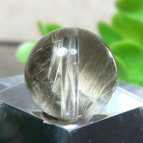 プラチナルチルクォーツ AAA ラウンド 約10.5mm程度 107-0