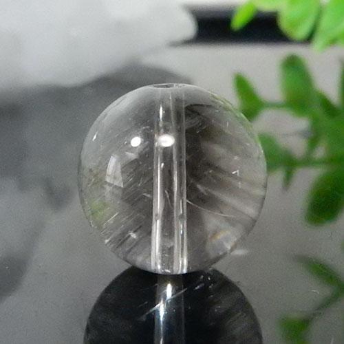 プラチナルチルクォーツ AAA ラウンド 約13.5mm 009-0