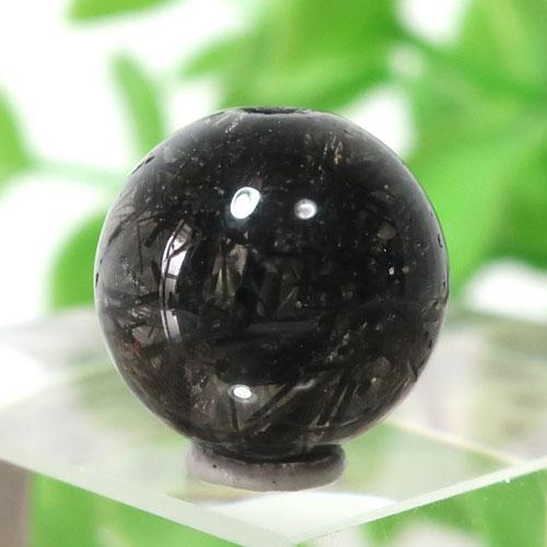 ブラックガーデンルチルクォーツ AAA- ラウンド 11.2mm 010