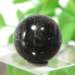ブラックガーデンルチルクォーツ AAA- ラウンド 11.3mm 012