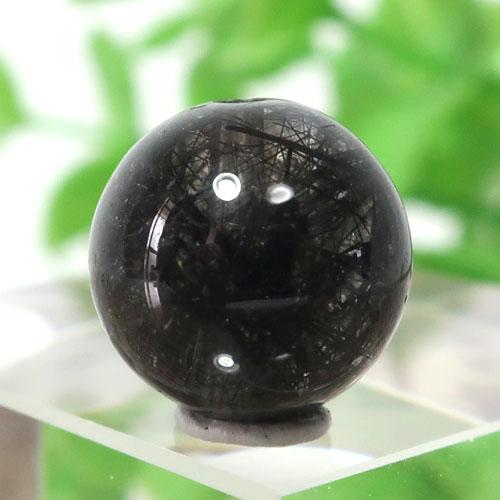 ブラックガーデンルチルクォーツ AAA- ラウンド 11.3mm 013