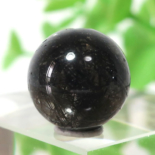 ブラックガーデンルチルクォーツ AAA- ラウンド 11.3mm 014(BS031RD11AAAM014)