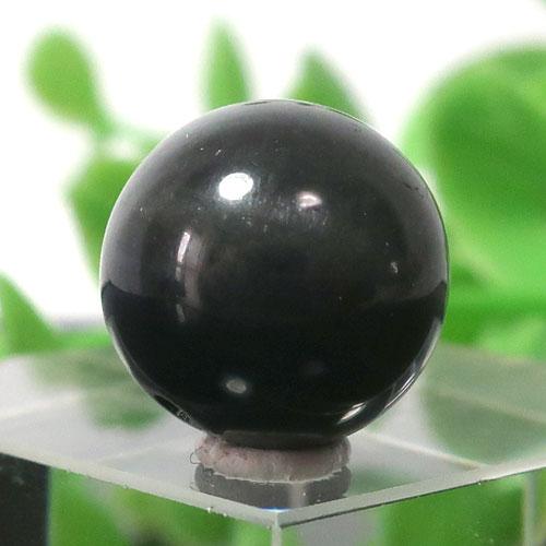 ブラックラブラドライト AA++ ラウンド 約12.5mm程度 017-0