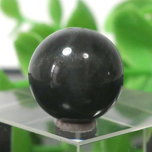ブラックラブラドライト AA++ ラウンド 約12.5mm程度 020-0