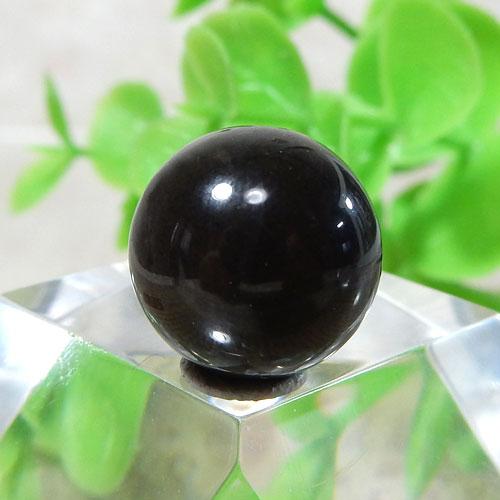 ブラックラブラドライト AAA- ラウンド 約11.5mm 012-0
