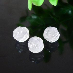 ローズクォーツ AAA- 薔薇カット 8mm