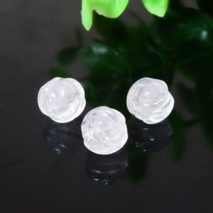ローズクォーツ AAA- 薔薇カット 8mm(BS046RSC08AAAM)