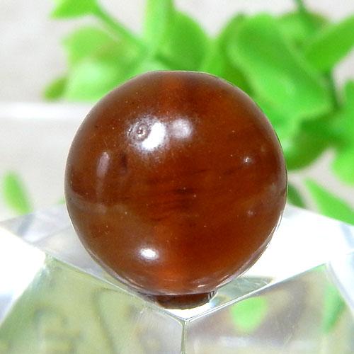 インドネシア産アンバー(琥珀) ラウンド 約13mm程度 128-0