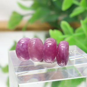ルビー AA++ ボタン 約4.3×8.3mm程度 003
