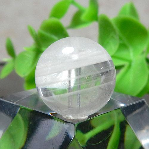 ホワイトガーデンファントムクォーツ AAA- ラウンド 12.5mm 015-0