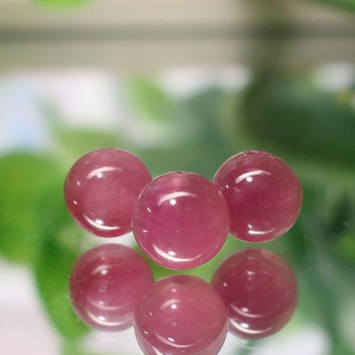 ピンクトルマリン AAA- ラウンド 約6.3mm