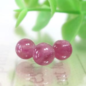 ピンクトルマリン AA++ ラウンド 約6.5mm