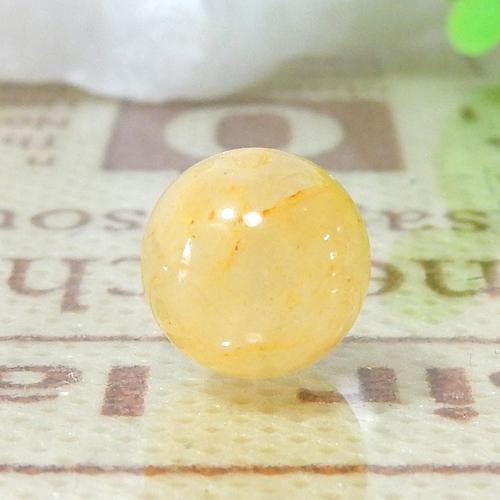 ヒマラヤ産ゴールドアゼツライト ラウンド 8.5mm 015