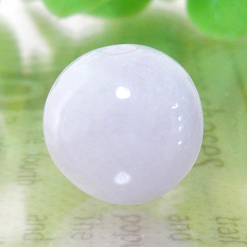 ラベンダー翡翠(ジェダイド) AA++ ラウンド 約14mm 012-0