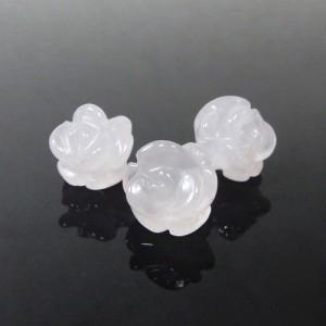 ローズクォーツ(ミルキータイプ) 薔薇(ローズ) 約9mm