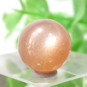 オレンジムーンストーン AAA- ラウンド 約11.5mm程度 101