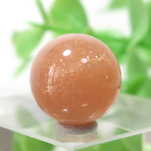 オレンジムーンストーン AAA- ラウンド 約11.7mm程度 103-0