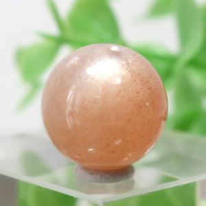 オレンジムーンストーン AAA- ラウンド 約11.7mm程度 103(BS151RD103)