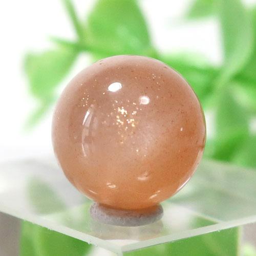 オレンジムーンストーン AAA- ラウンド 約11.7mm程度 104-0