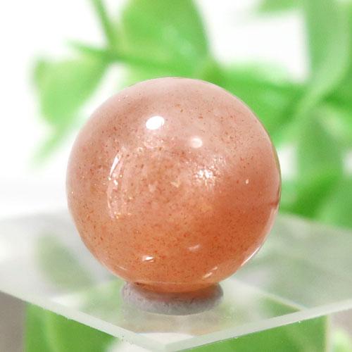 オレンジムーンストーン AAA- ラウンド 約11.8mm程度 105-0