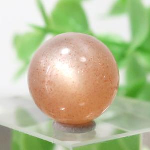 オレンジムーンストーン AAA- ラウンド 約11.8mm程度 106(BS151RD106)