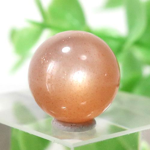 オレンジムーンストーン AAA- ラウンド 約11.9mm程度 108