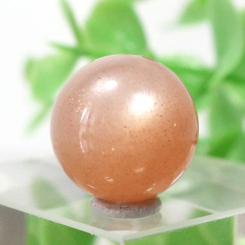 オレンジムーンストーン AAA- ラウンド 約11.9mm程度 109