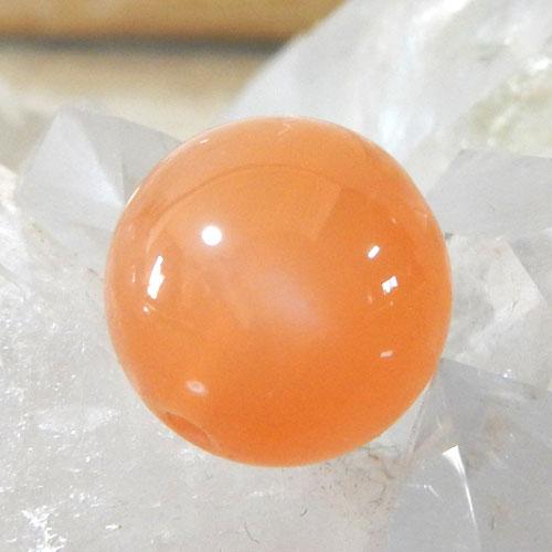 オレンジムーンストーン AAA ラウンド 10mm 002-0