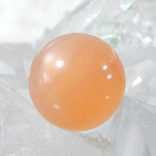 オレンジムーンストーン AAA ラウンド 10mm 005
