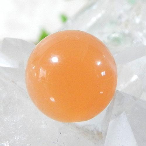 オレンジムーンストーン AAA ラウンド 10mm 008-0