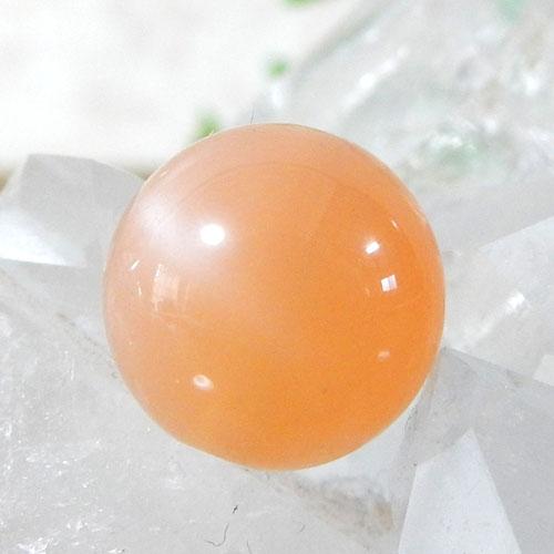 オレンジムーンストーン AAA ラウンド 10mm 008